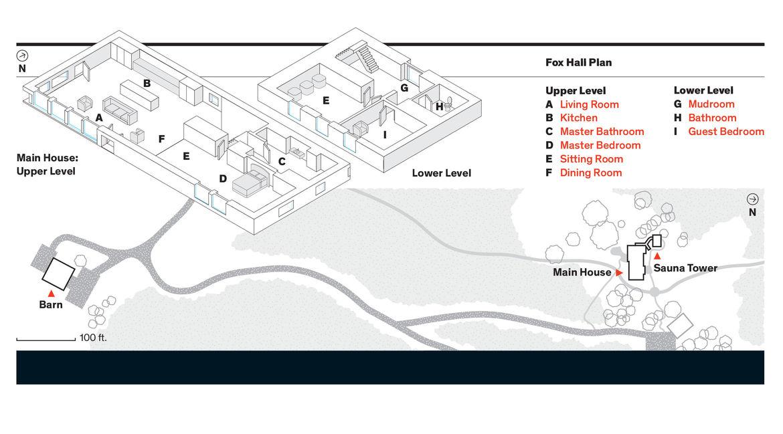 Fox Hall Floor Plan