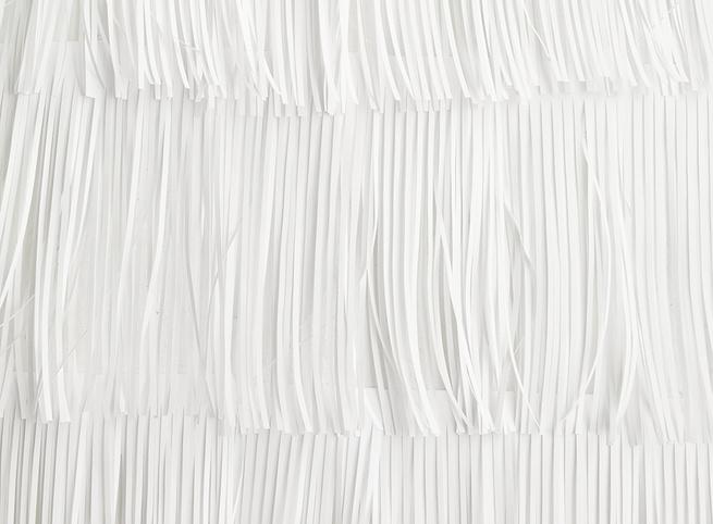 modern design fringe wallpaper paper pierre pozzi dining room