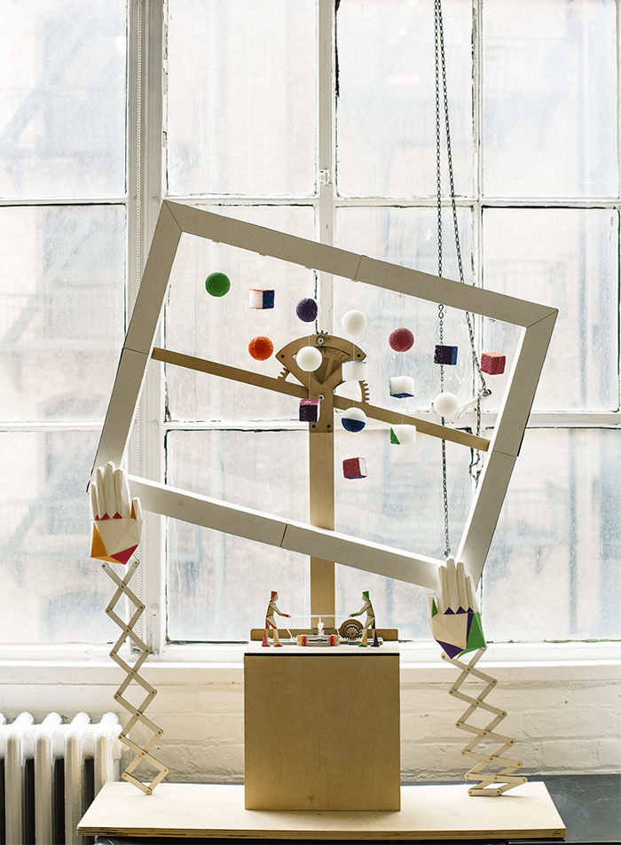 An installation by littleBits and Labour for the MoMA Design Store