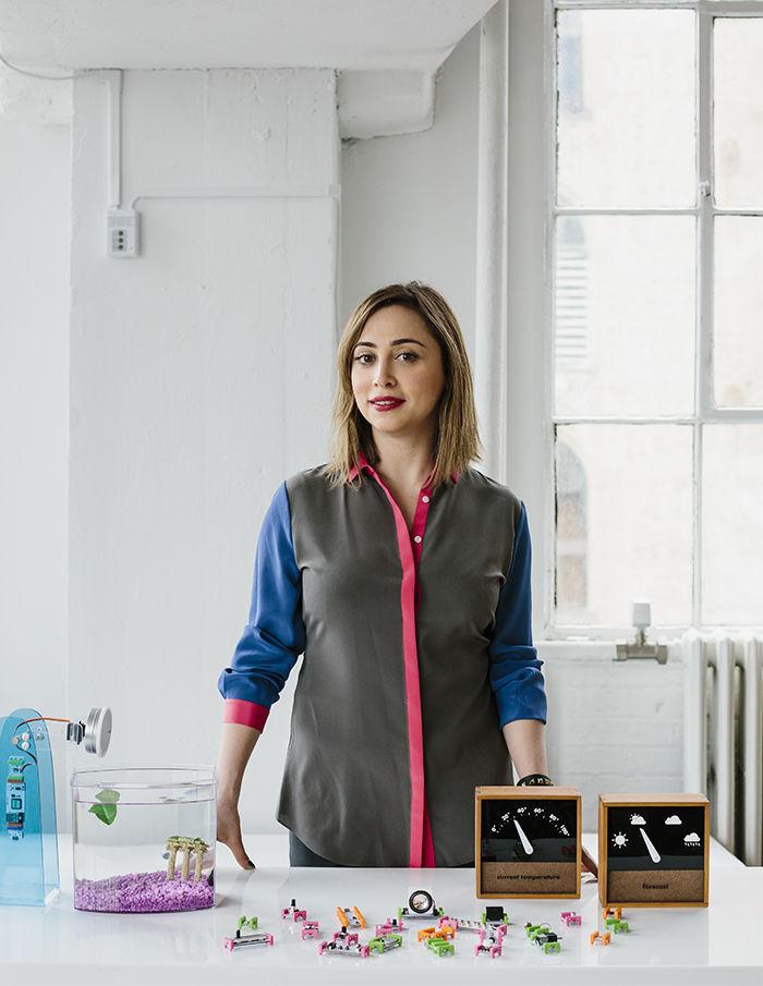 Ayah Bdeir, the founder of littleBits