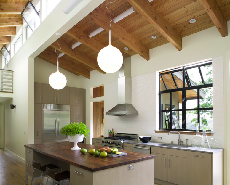 Light-filled kitchen in Northern California