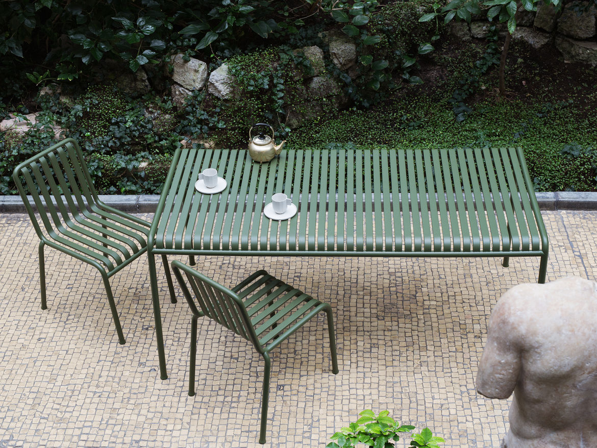 Palissade outdoor furniture by Bouroullec Studio for HAY