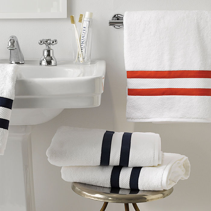 q&A with Modern design leaders like Frederik Carlström of Austere who recommends Matouk bath towels