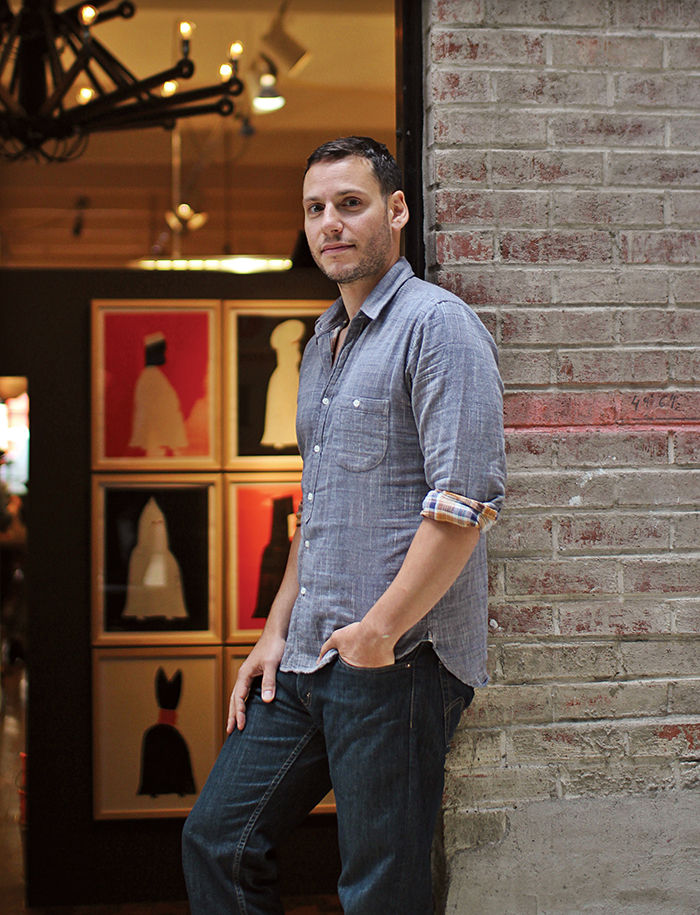 q&A with Modern design leaders like David Alhadeff of The Future Perfect portrait