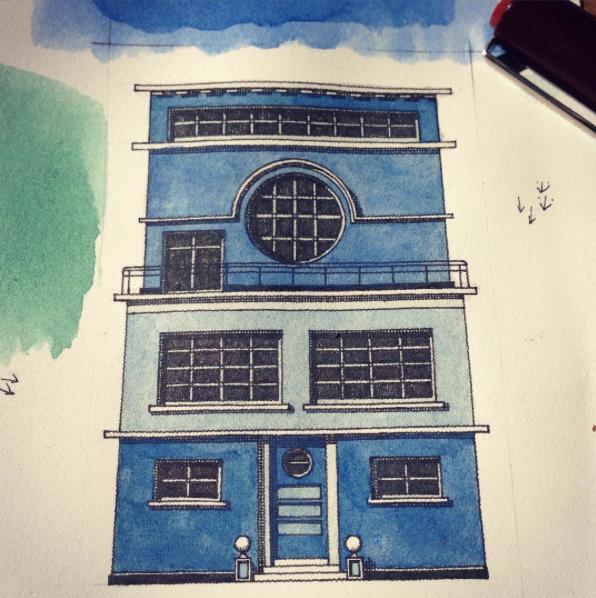 Thibaud Herem building facade
