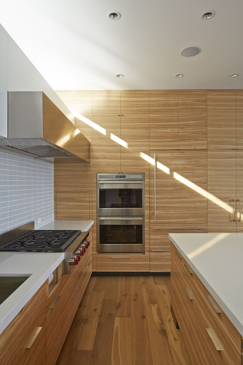 Kitchen with Wolf and Sub-Zero appliances in San Francisco remodel by Studio Vara.
