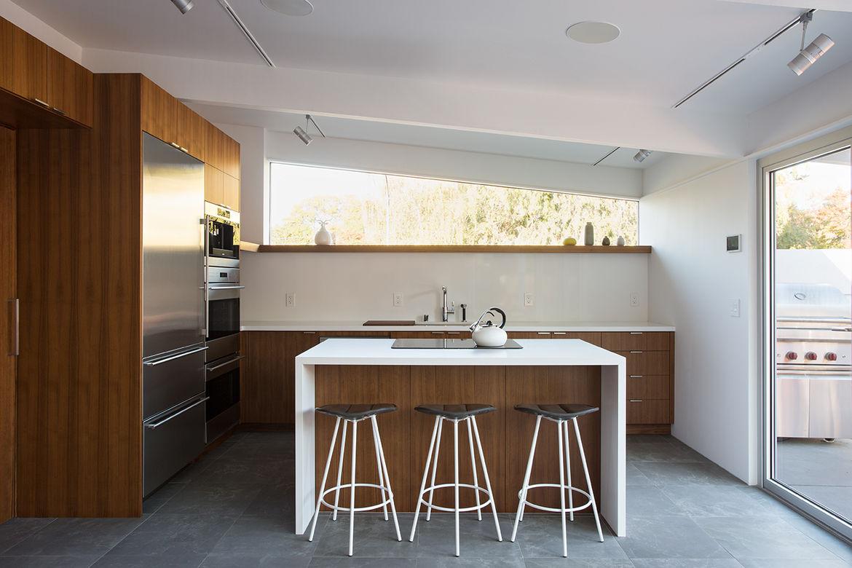 Palo Alto Eichler Renovation Kitchen
