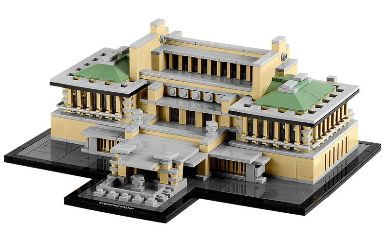 LEGO Architecture Imperial Hotel Frank Lloyd Wright