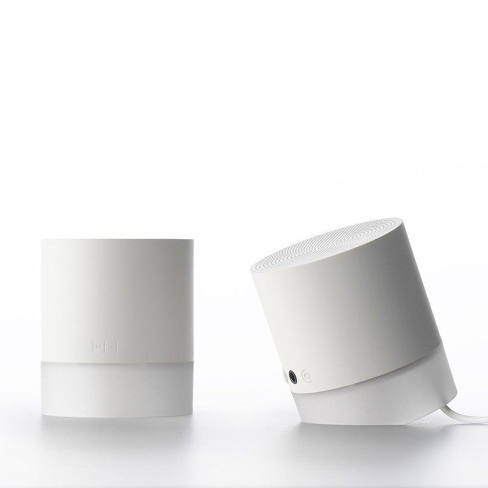 Minimalist portable bluetooth speakers