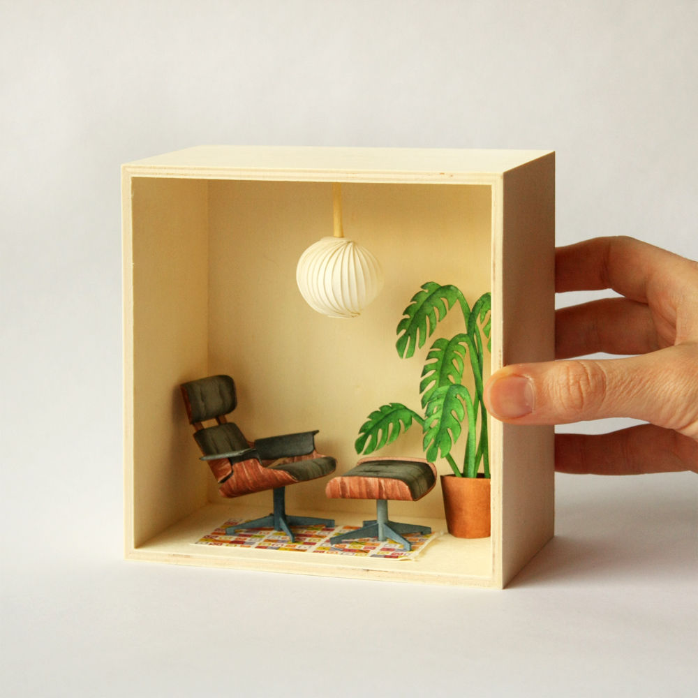 Eames' Living Room by Mar Cerdà
