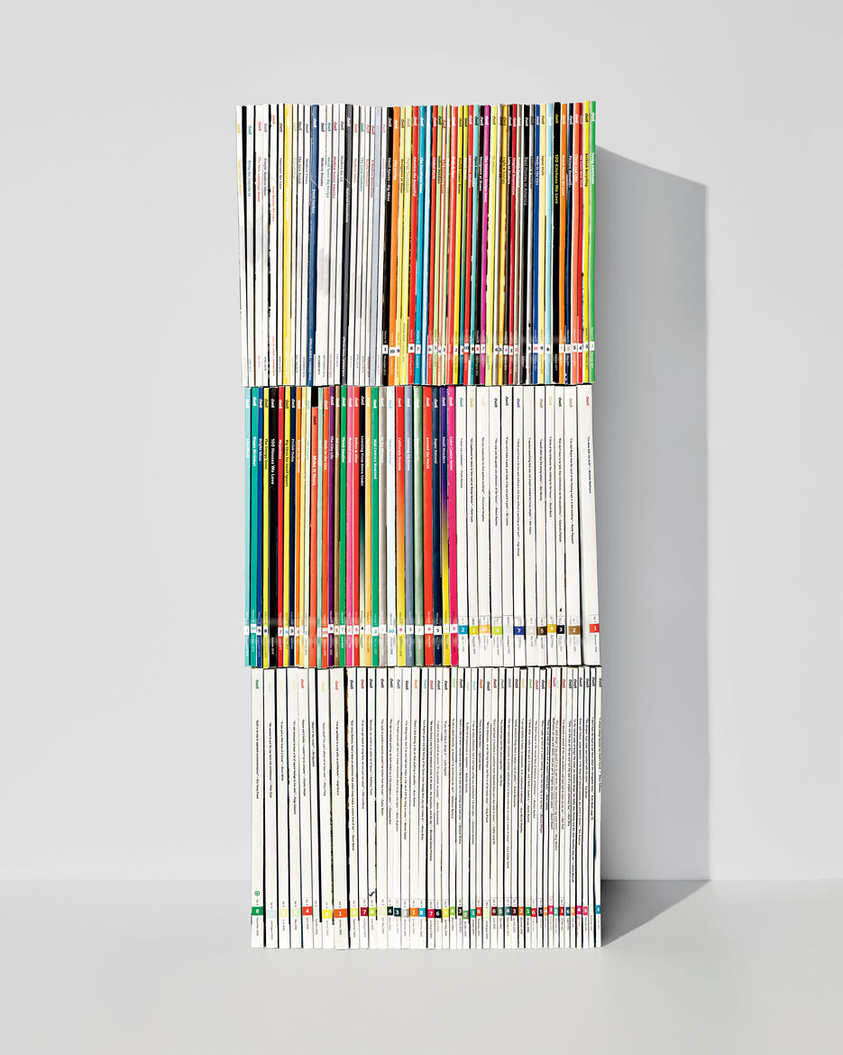 Dwell 15 years anniversary every single issue