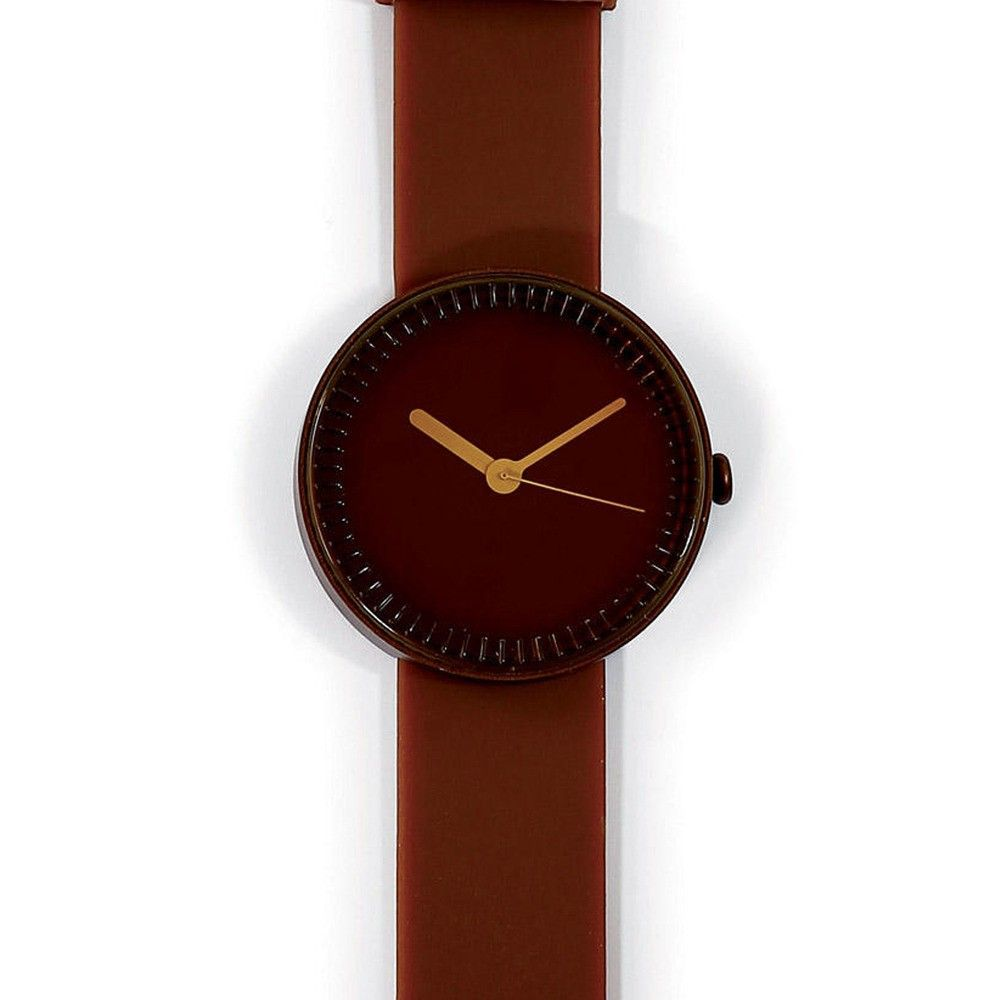 Wristwatch inspired by base of wine bottle