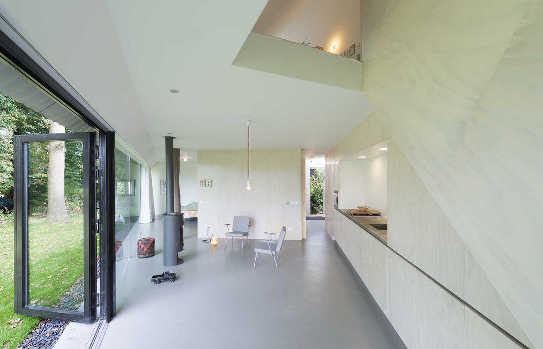 Netherlands house sparse living area