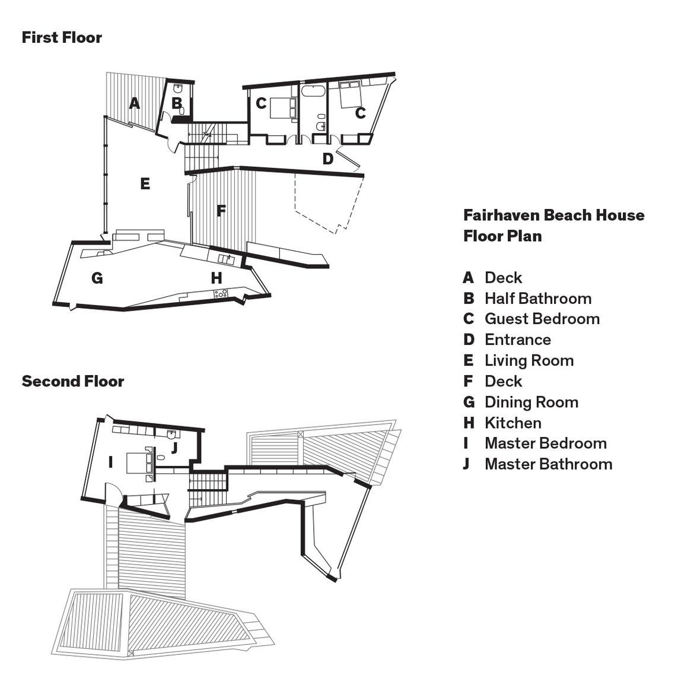 modern fairhaven beach house blackbutt eucalyptus floor plans