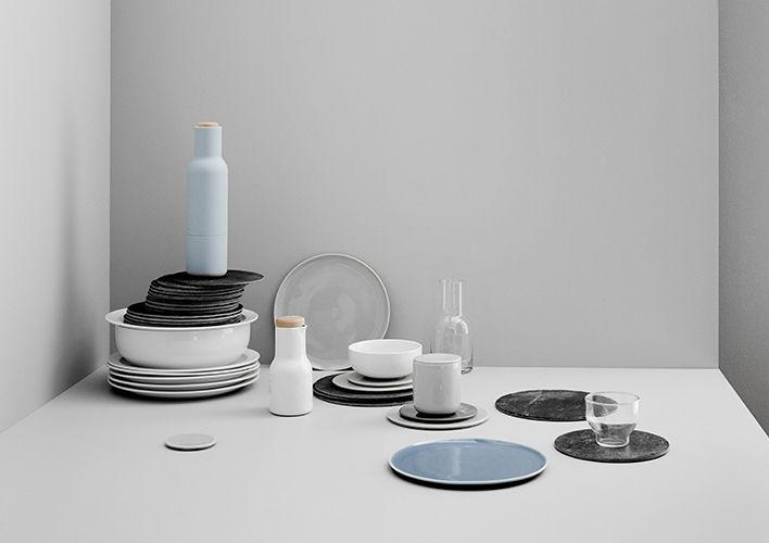 Dinnerware series with hand painted finish