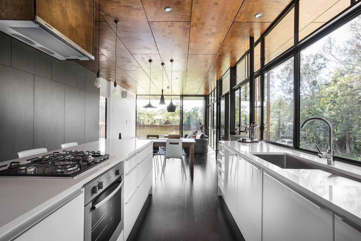 Northern Rivers Beach House kitchen