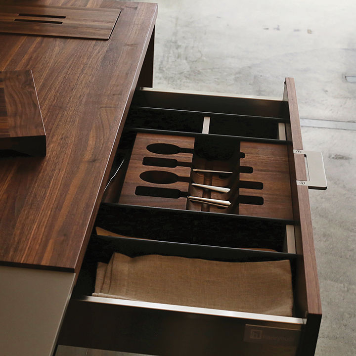 modern made in america products USA northwest henrybuilt drawer accessory system