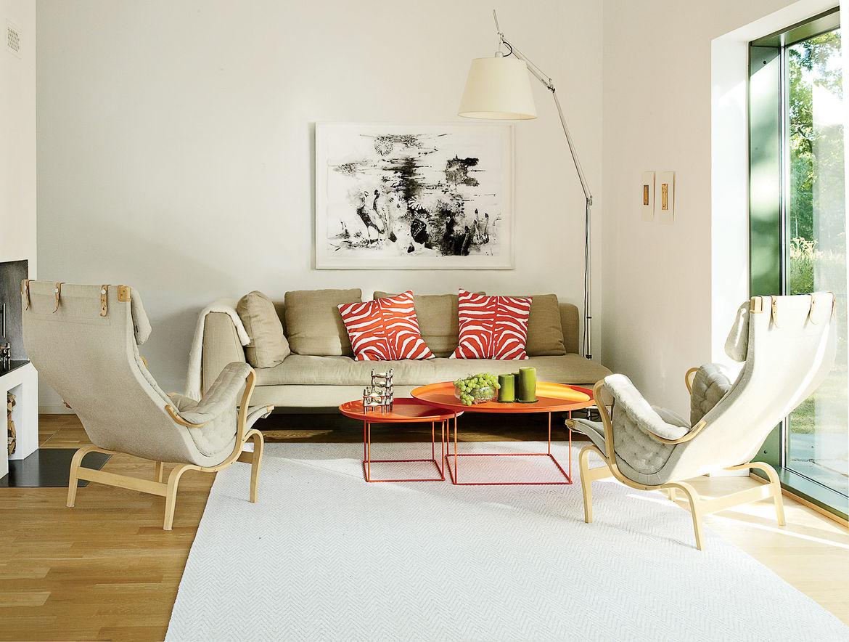 Swedish Prefab Home, Living Area