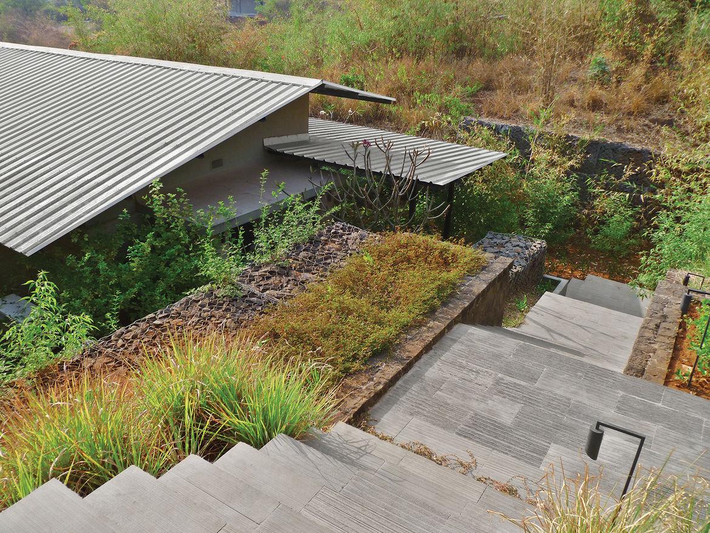 modern world profile Margie Ruddick India outdoors landscaping stairs