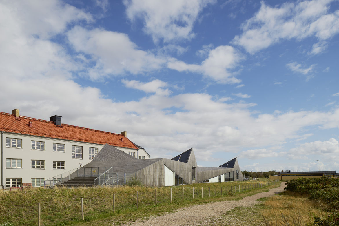 Raa Day Care Center by Dorte Mandrup Arkitekter along the coast of Sweden.