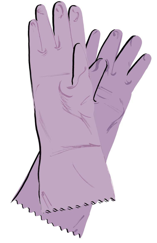 Rubber gloves