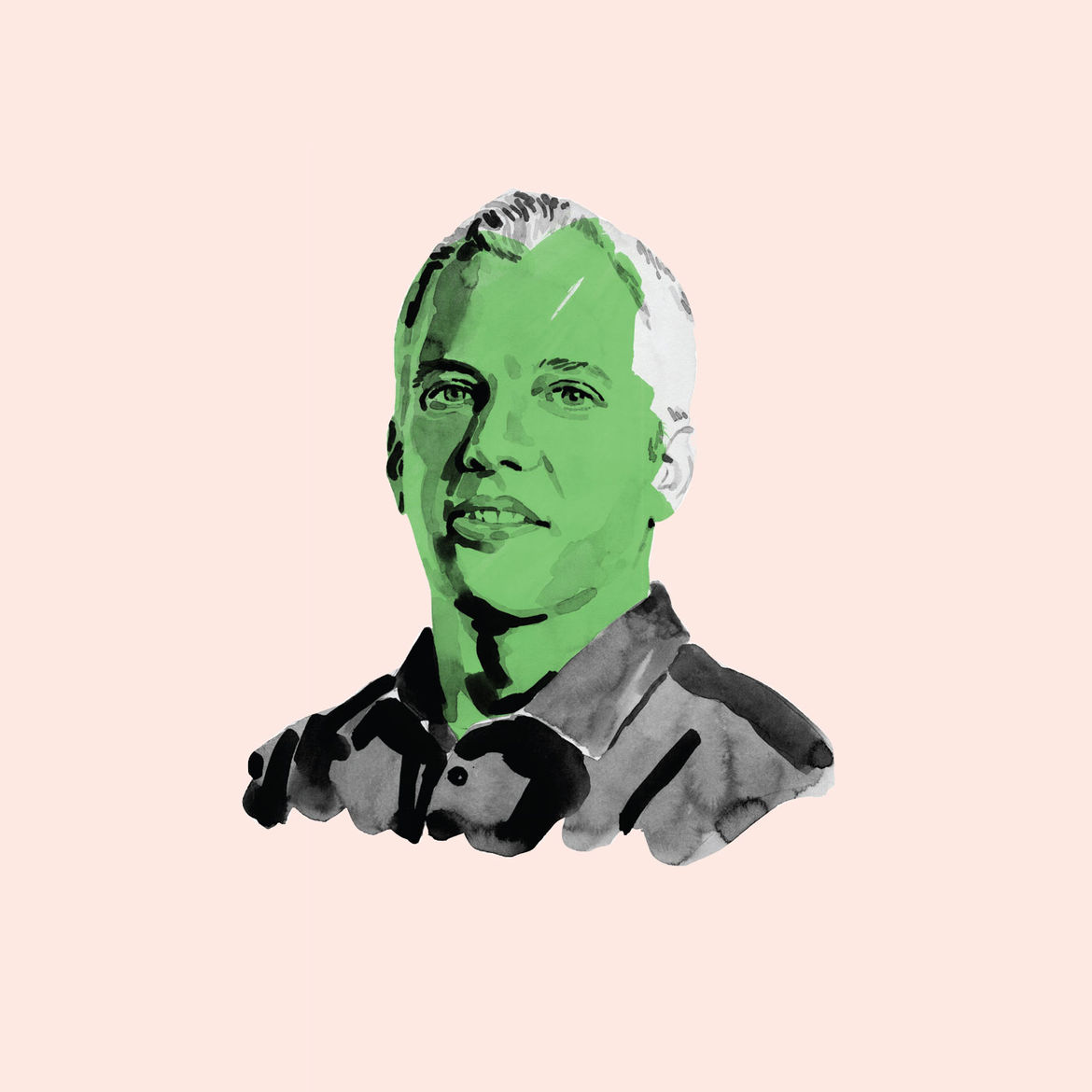 Portrait of urban planner, designer, and author Ryan Gravel.