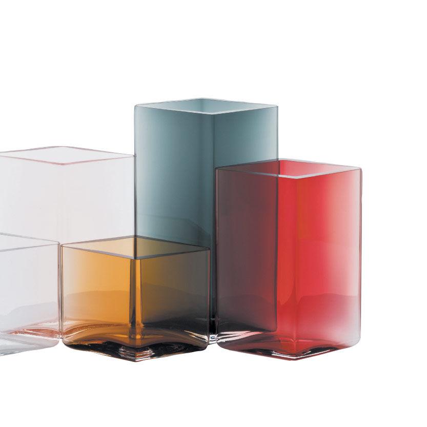 Ruutu Vases by Erwan and Ronan Bouroullec for Iittala
