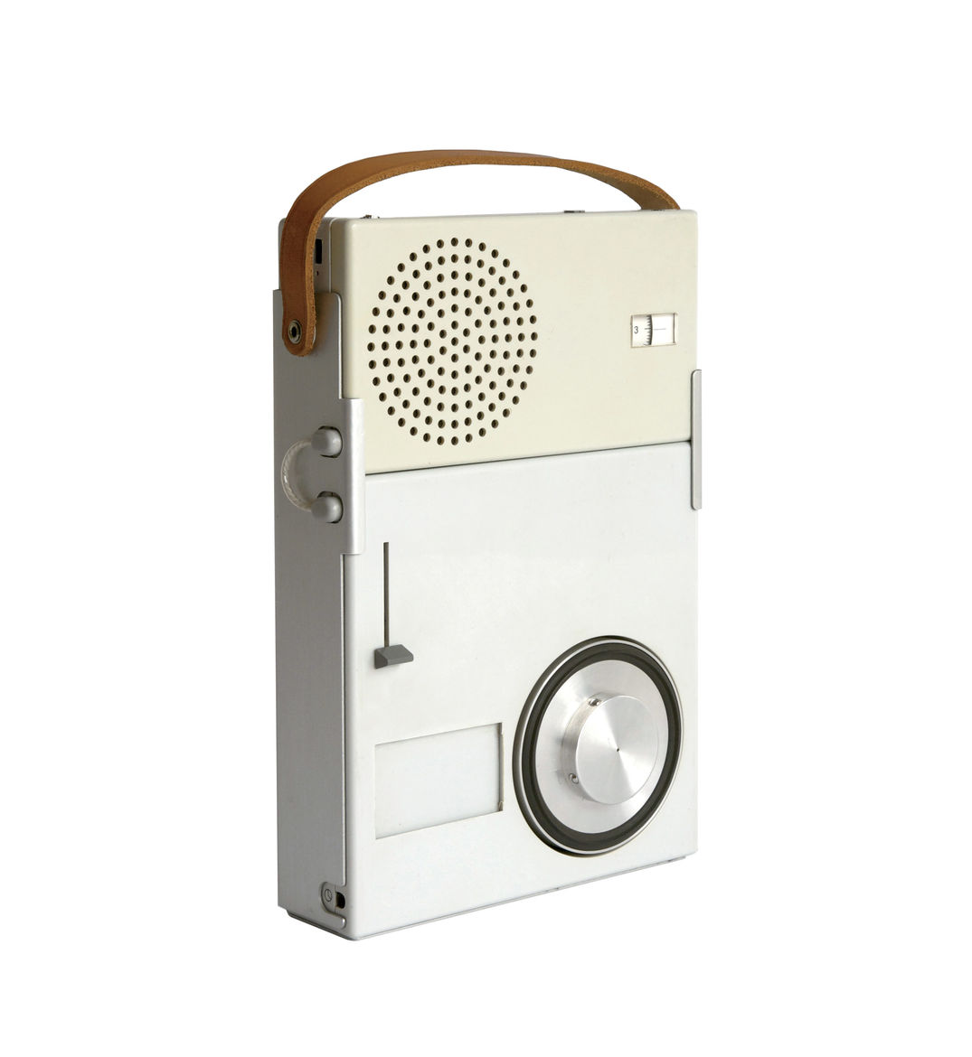 Portable Transistor Radio and Phonograph by Dieter Rams for Braun