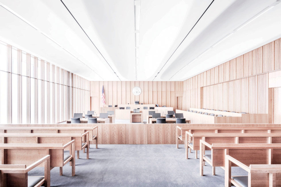 Acoustically-Engineered U.S. Courthouse for District of Utah in Salt Lake City