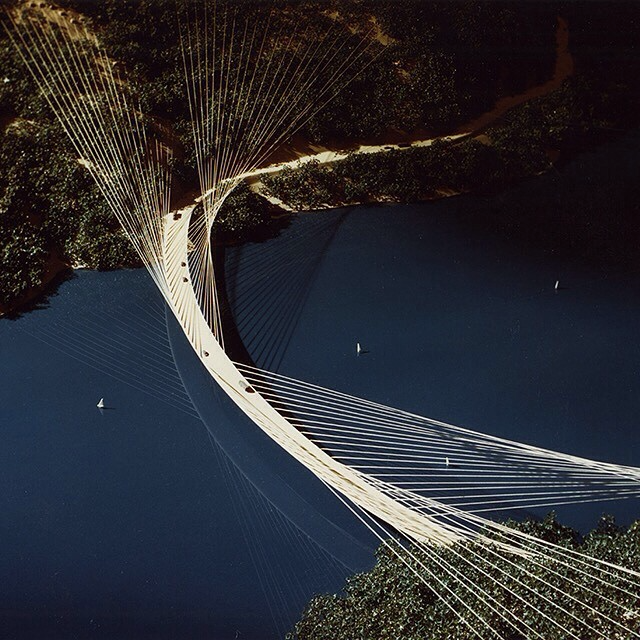 Ruck-A-Chucky Bridge (1978) by Skidmore, Owings, Merrill in California