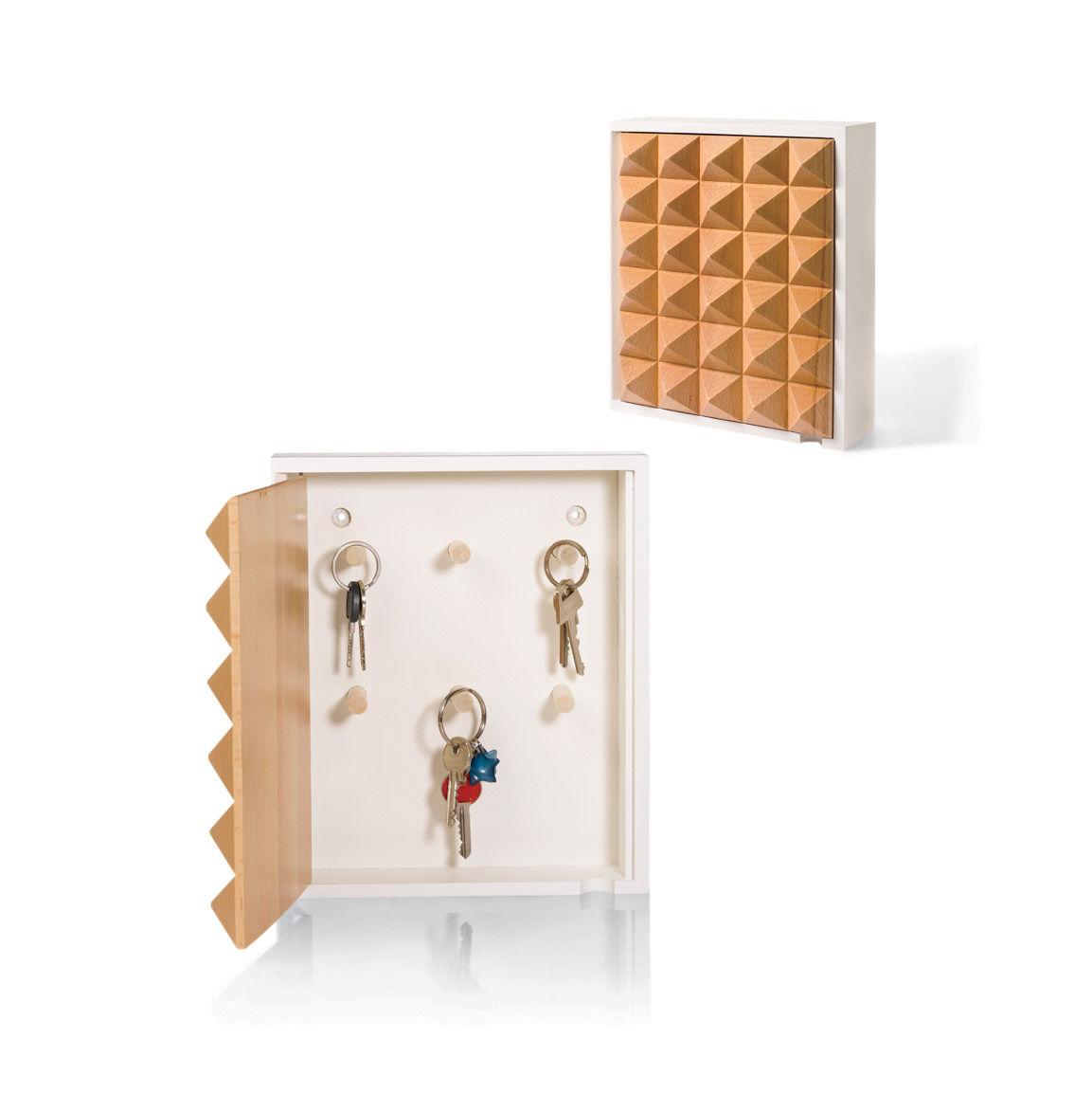 Holiday gift guide 2016 Dwell Store Graduates picks like the birch Korridor pyramid key box