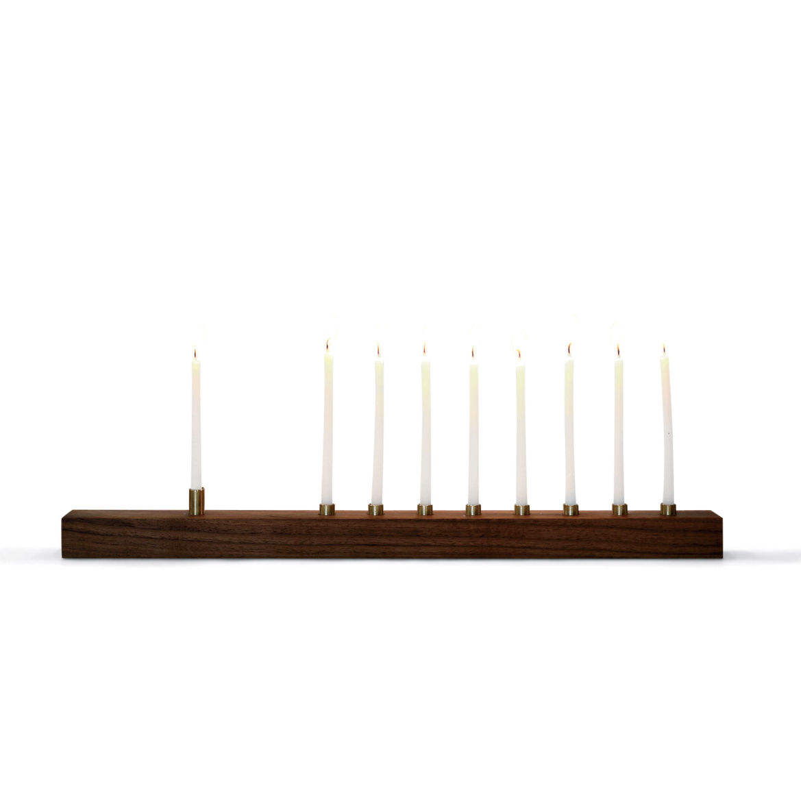 Holiday gift guide 2016 Dwell Store Graduates picks like the Marmol Radziner walnut menorah