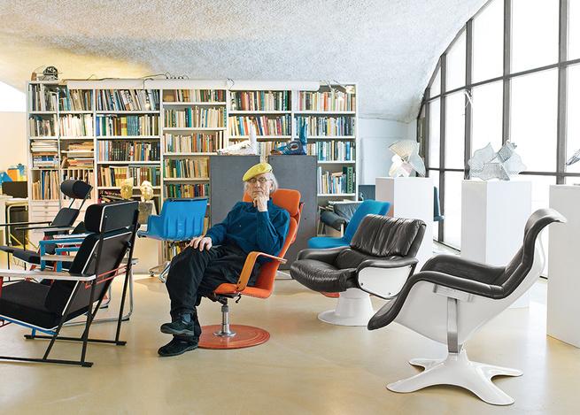 modern yrjo kukkapuro finland artek open sitting area fysio chair