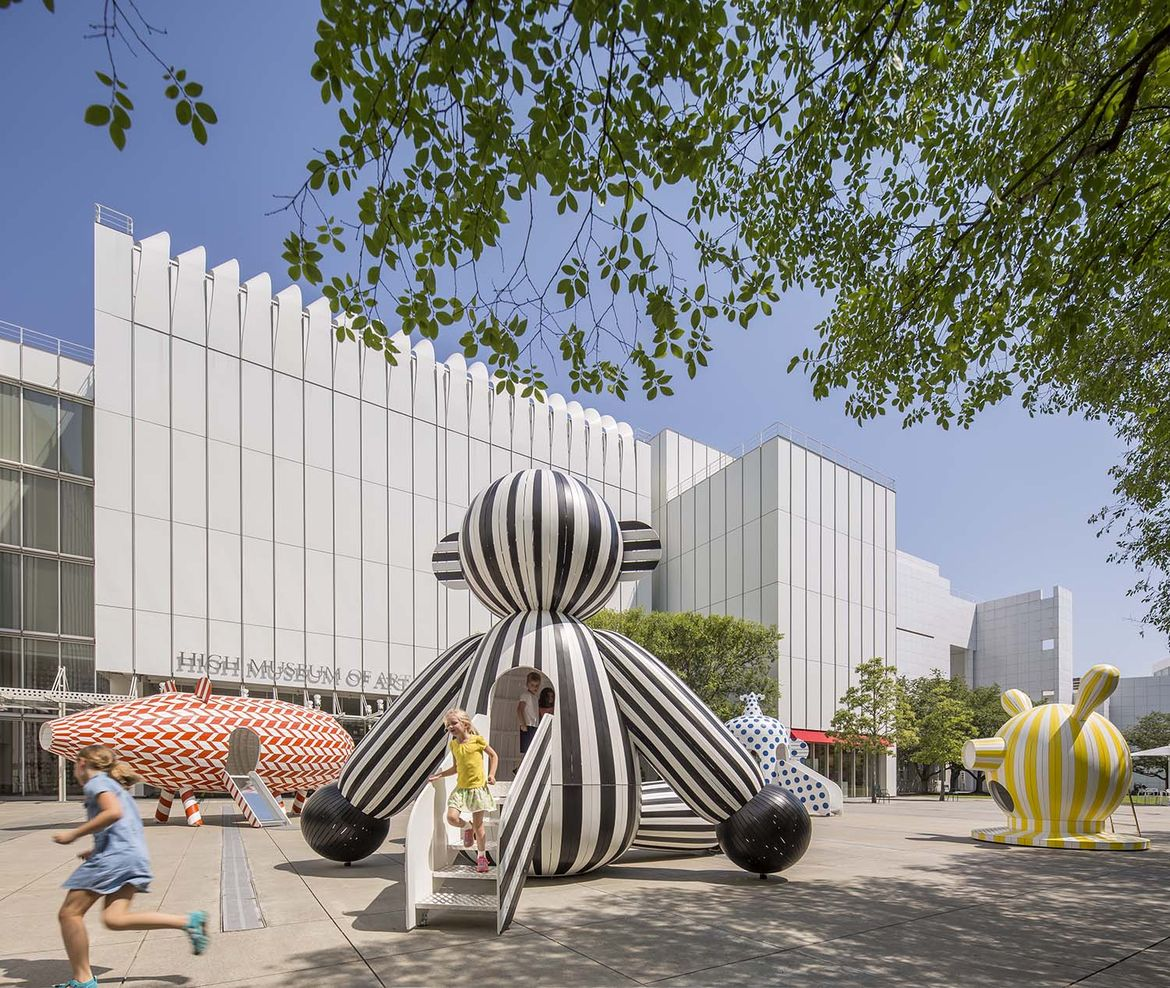 Large-scale sculptures by Jaime Hayon at the High Museum