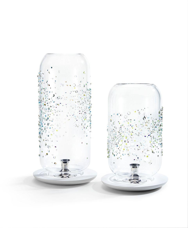 Glass lanterns by Tord Boontje for Atelier Swarovski Home