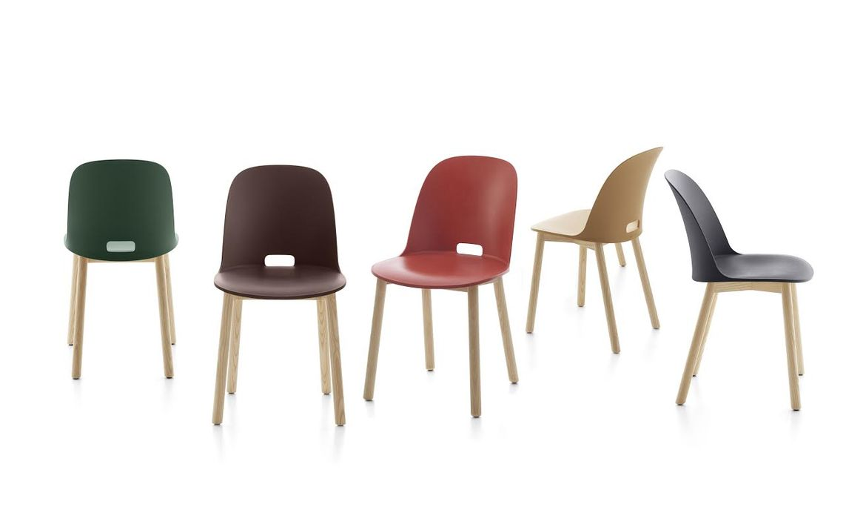 Alfi chairs by Jasper Morrison for Emeco