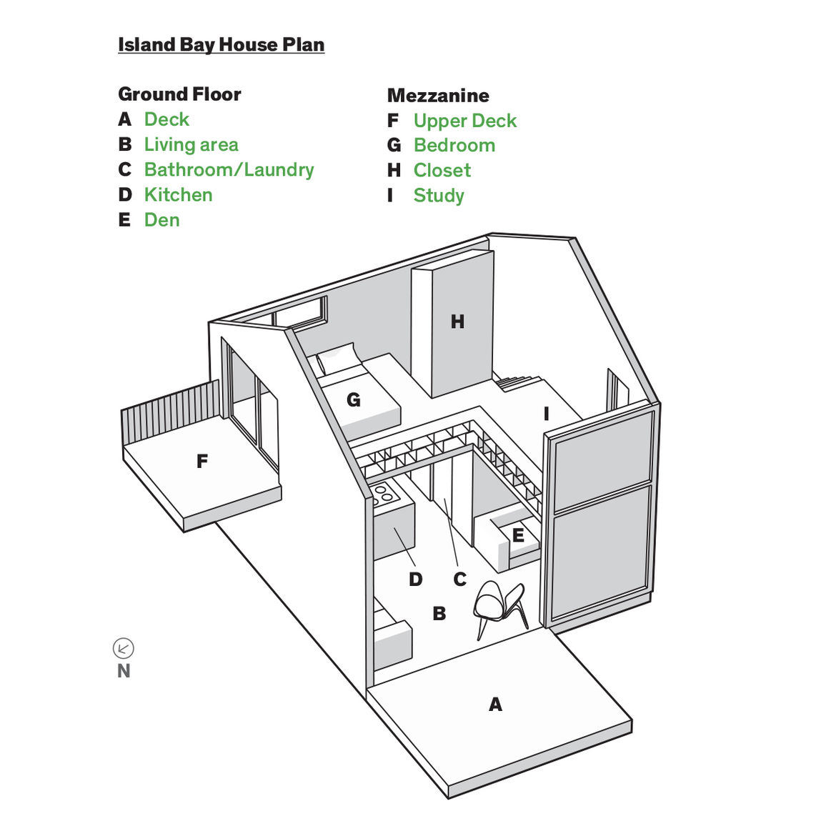 Modern small space in New Zealand floor plans