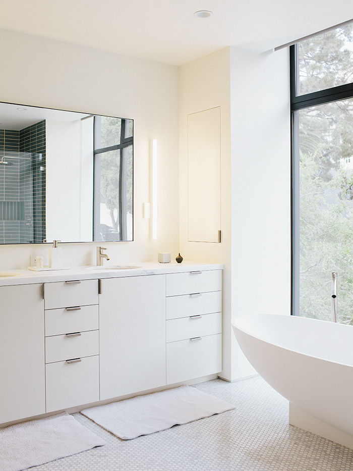 Modern renovation in San Francisco with master bathroom