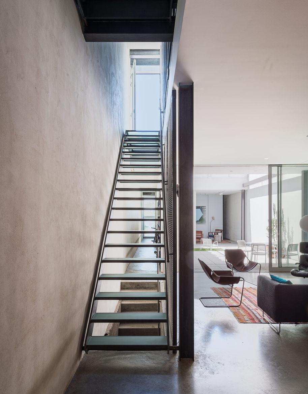 Baumann residence stairway