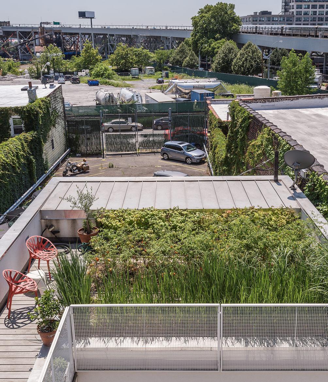 Baumann residence roof deck