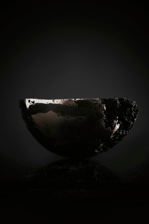 A bronze bowl by Driaan Claassen