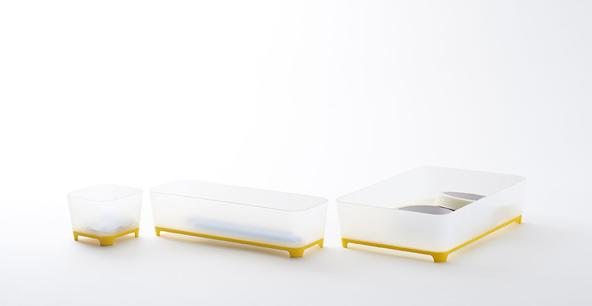 Young Guns 2015 Takt Project from Tokyo designed the 3-pring Products, 3-D Printed products for Muji containers
