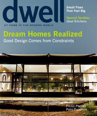 dwell cover 2005 june dream homes realized