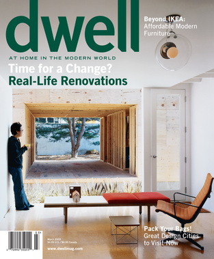 dwell cover 2005 march time for a change