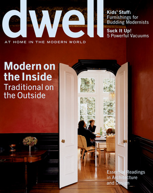 dwell cover 2006 february modern on the inside