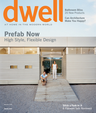 dwell cover 2006 november prefab now