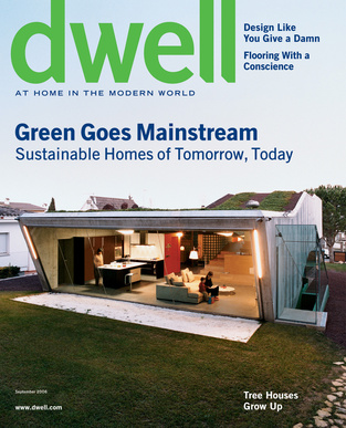 dwell cover 2006 september green goes mainstream