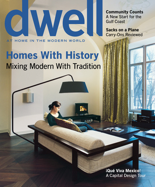 dwell cover 2007 june homes with history