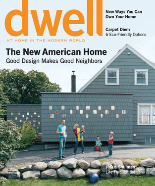 dwell cover 2007 october the new american home