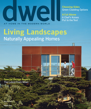 dwell cover 2007 september living landscapes